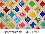 Cathedral Window Quilt Design