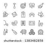 set of wine icon  such as grape ... | Shutterstock .eps vector #1383482858