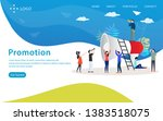 promotion vector illustration... | Shutterstock .eps vector #1383518075