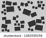 set of square vector photo...   Shutterstock .eps vector #1383530198
