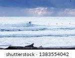 surfing at duranbah  nsw ... | Shutterstock . vector #1383554042