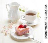 Beautiful Pink Berries Pastry ...