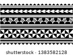 tattoo arm band tattoo hand... | Shutterstock .eps vector #1383582128