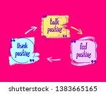 vector positive lettering ... | Shutterstock .eps vector #1383665165