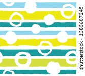 seamless pattern with... | Shutterstock .eps vector #1383687245