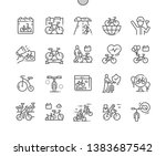 world bicycle day well crafted... | Shutterstock .eps vector #1383687542