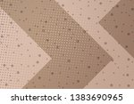 beautiful beige abstract... | Shutterstock . vector #1383690965