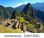 Machu Picchu In Peru   Lost...