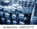 auto production lines  side...   Shutterstock . vector #1383721775