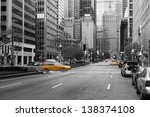 manhattan  new york city in... | Shutterstock . vector #138374108