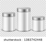 metal tin can container.... | Shutterstock .eps vector #1383742448