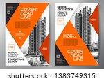 business brochure. flyer design.... | Shutterstock .eps vector #1383749315