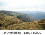 dana nature reserve panorama ... | Shutterstock . vector #1383756002