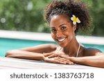 portrait of african american...   Shutterstock . vector #1383763718
