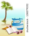 holiday vacation seaside... | Shutterstock .eps vector #138379352