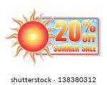 20 percentages off summer sale...