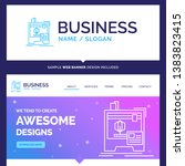 beautiful business concept... | Shutterstock .eps vector #1383823415