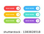 big collection buttons read... | Shutterstock .eps vector #1383828518