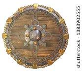 Round Fantasy Wooden Shield...
