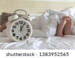 Bedtime Sleep With Alarm Clock...