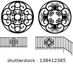 Wrought Iron Decoration In The...