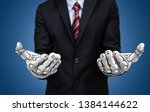 artificial intelligence ai... | Shutterstock . vector #1384144622