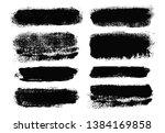 brush strokes. vector... | Shutterstock .eps vector #1384169858