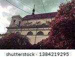 beautiful historic building...   Shutterstock . vector #1384219295