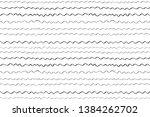 seamless monochrome pattern... | Shutterstock . vector #1384262702
