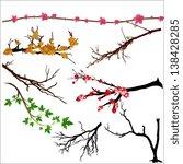 branches vectors | Shutterstock .eps vector #138428285