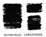 brush strokes. vector... | Shutterstock .eps vector #1384293098