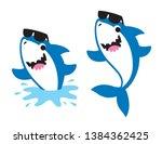 vector illustration of cute... | Shutterstock .eps vector #1384362425