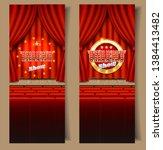 talent show vertical vector...   Shutterstock .eps vector #1384413482