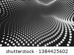 abstract polygonal space low... | Shutterstock . vector #1384425602