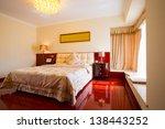 luxury bedroom | Shutterstock . vector #138443252