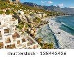 penthouse estate near beach.... | Shutterstock . vector #138443426