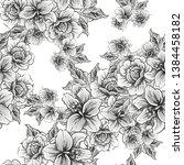 abstract elegance seamless...   Shutterstock . vector #1384458182