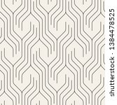 seamless pattern with geometric ... | Shutterstock .eps vector #1384478525