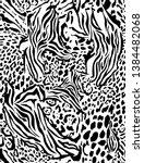 leopard fashion. new pattern... | Shutterstock .eps vector #1384482068