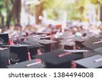 group of graduates during... | Shutterstock . vector #1384494008