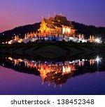Twilight Ho Kham Luang Temple...