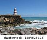 cape dombey obelisk in robe ...   Shutterstock . vector #1384525925