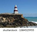 cape dombey obelisk in robe ...   Shutterstock . vector #1384525955