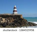 cape dombey obelisk in robe ...   Shutterstock . vector #1384525958