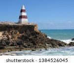 cape dombey obelisk in robe ...   Shutterstock . vector #1384526045