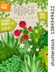 outdoor garden landscape...   Shutterstock .eps vector #1384549622