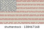American Flag Created With The...