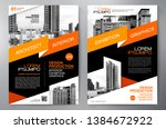 business brochure. flyer design.... | Shutterstock .eps vector #1384672922