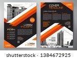 business brochure. flyer design.... | Shutterstock .eps vector #1384672925