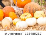 Pumpkins With Different Colour...